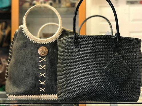 Three in One Wicker Handbag