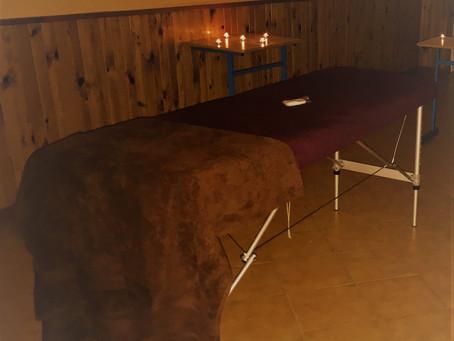 1er massage au Domaine de Fohet