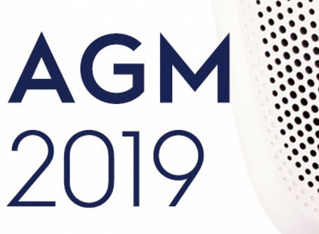 2019 AGM - 8th April