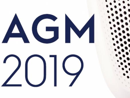 2019 AGM - 8th April
