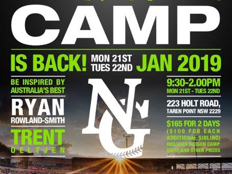 The NxtGen Camp is back in Cronulla