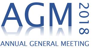 2018 AGM - 9th April
