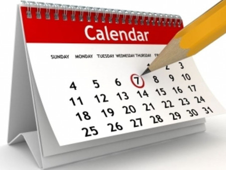Giants - key dates
