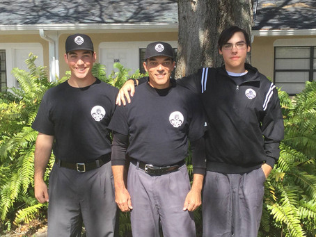 Giants umpires on the world stage
