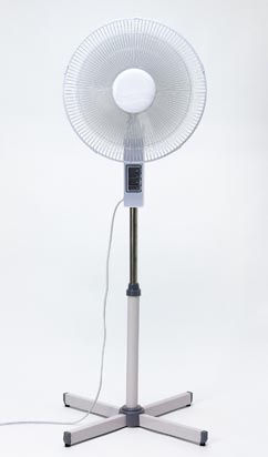 メカ扇風機、風量3段階きりかえ扇風機