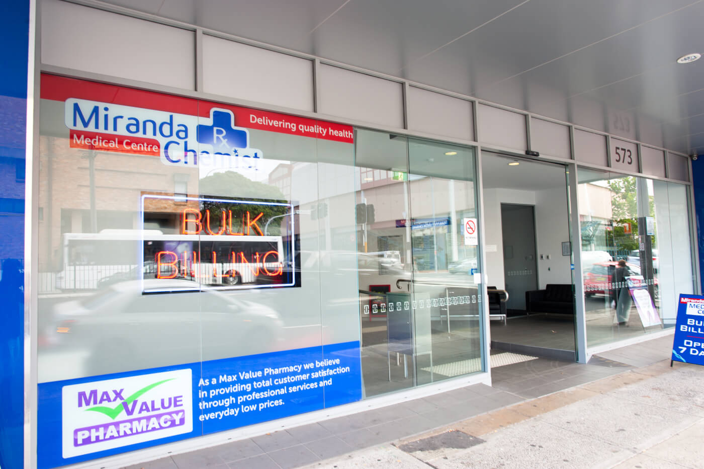 Miranda Medical Centre Entrance