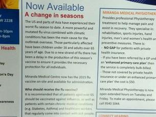 MMC Newsletter - April 2015