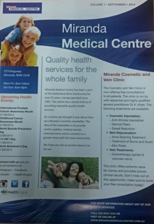 MMC Newsletter - September 2014