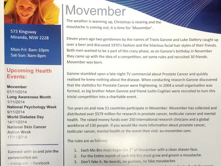 MMC Newsletter - November 2014