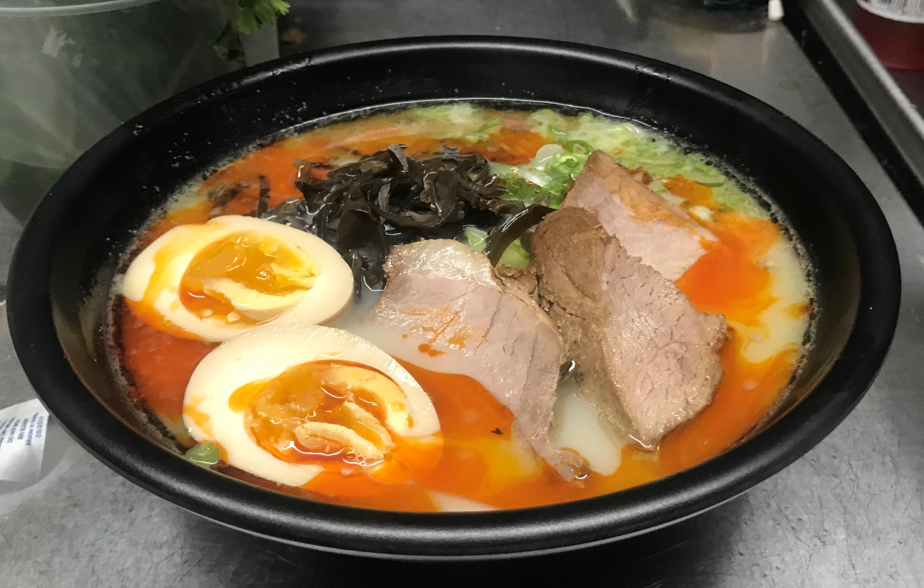 spicy tonkotsu shoyu