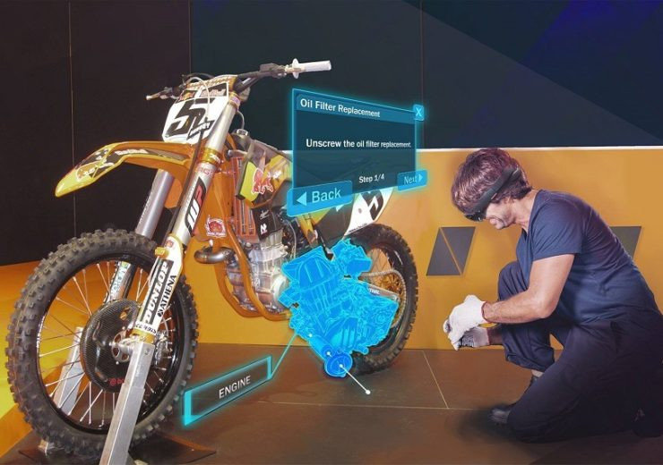 5G AR & VR usage for smart manufacturing