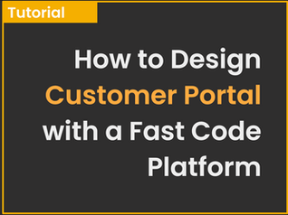 Create a Customer Portal With a XME. Platform