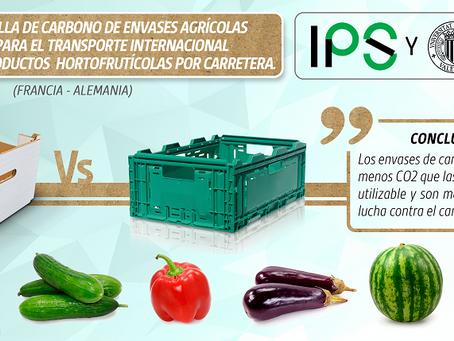 Huella de Carbono de cajas de cartón corrugado vs cajas de plástico para frutas y hortalizas
