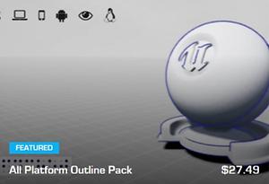 UE4 - All Platform Outline Pack | Jiffycrew
