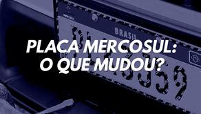 Placa Mercosul: O que mudou?