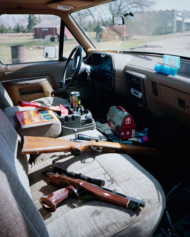 Pickup Interior, Central ND