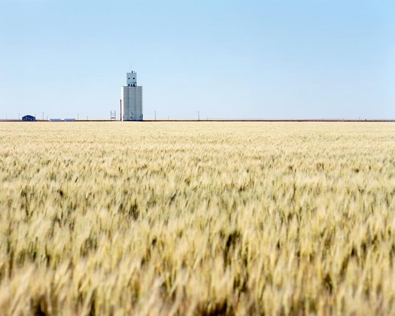 West of Horace, KS