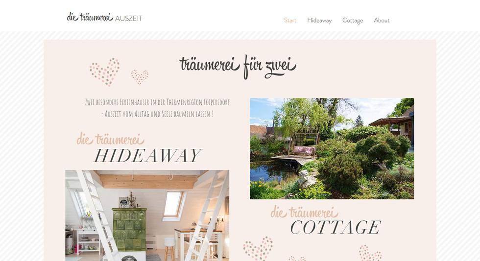 """""""Auszeit"""": Website"""
