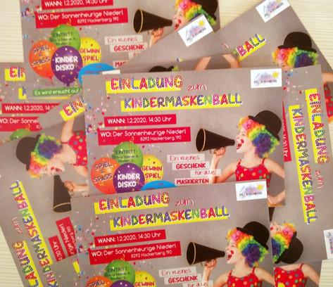 """EV Hackerberg"": Einladung zum Kindermaskenball"