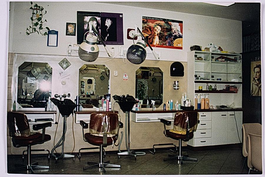 Friseur Mausser Foto vom alten Salon