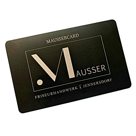 Friseur Mausser: die MausserCard