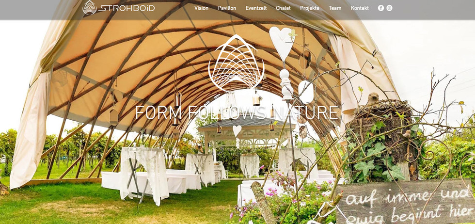 """STROHBOID"": Relaunch Website"
