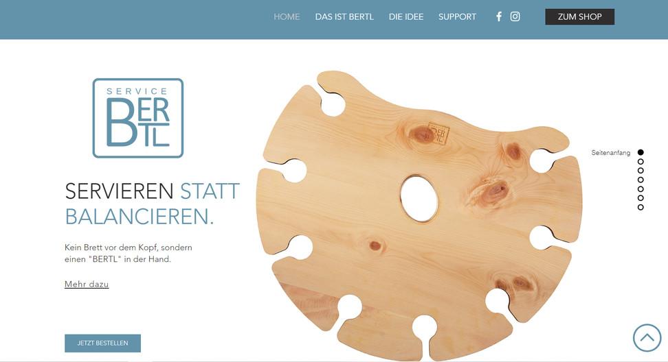 """""""ServiceBERTL"""": Logo & Website"""