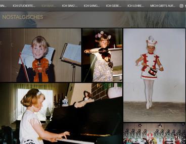 """""""Nina Bernsteiner - Musikerin, Sängerin & Pädagogin"""": Relaunch Website"""