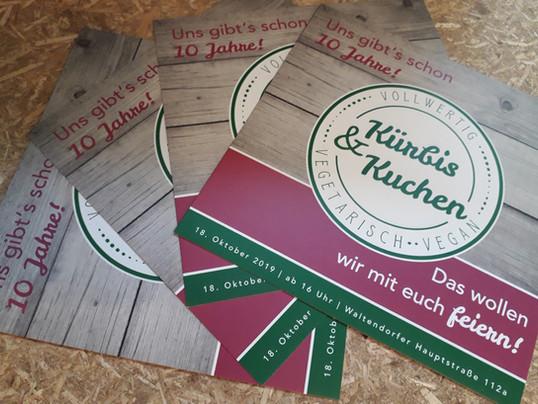 """""""Kürbis & Kuchen"""": Flyer"""