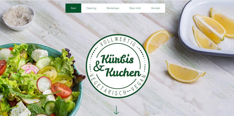 """""""Kürbis & Kuchen"""": Relaunch Website"""