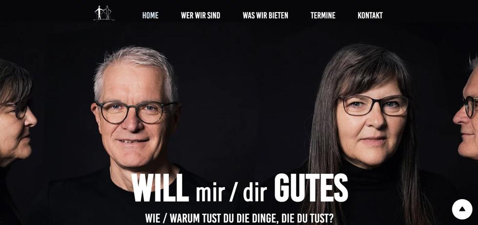 """Will Gutes"": Website"