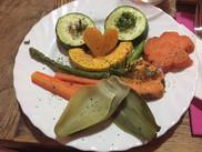 entspannt ankommen und noch ein letztes abendmahl genießen :)