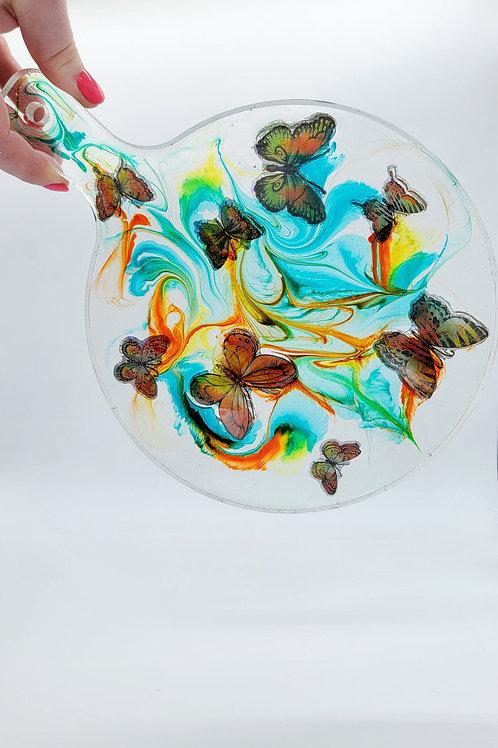 Butterfly Swirls Paddle