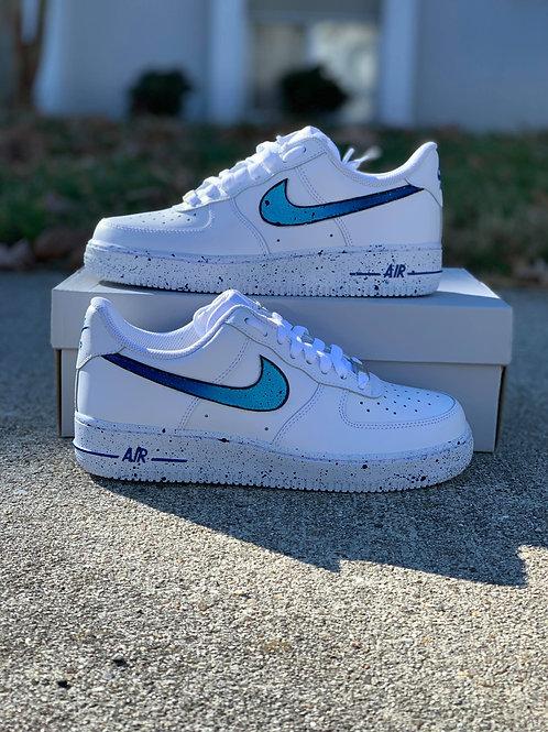 Nike Air Force 1 Custom 'Splatter'