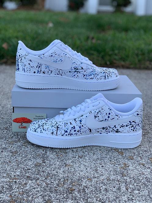 Nike Air Force 1 Custom 'BGB Splatter'
