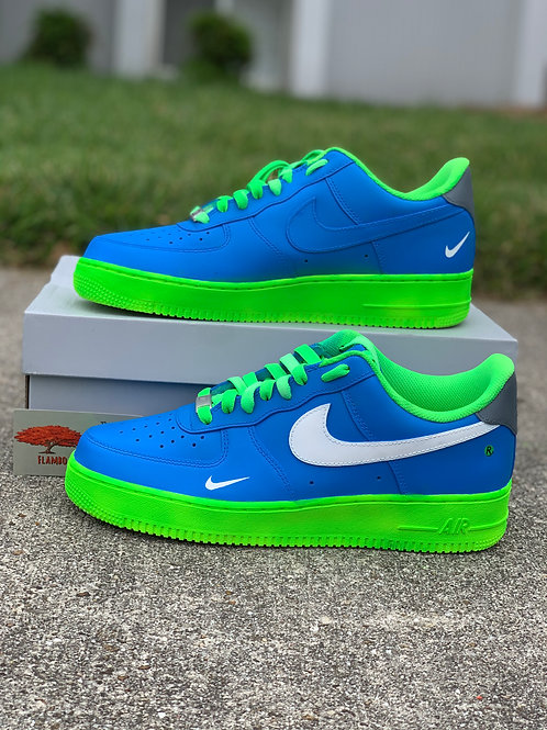 Nike Air Force 1 Custom 'Fluorescent'