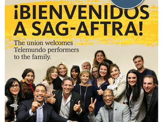 SAG-AFTRA welcomes Telemundo performers to the family