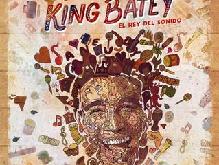 """Pablo Azar diseña la portada del álbum """"El Rey Del Sonido"""" del cantautor y actor King Batey"""