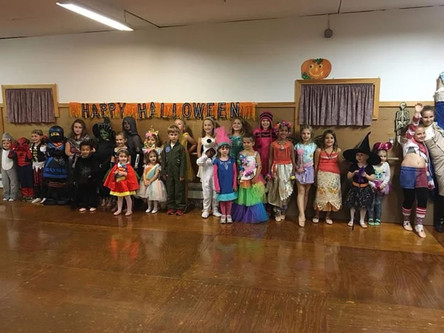 Combo Class Halloween Party