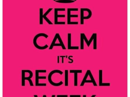 Recital Week