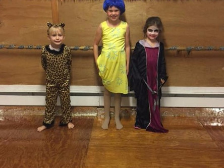 Combo Class Halloween Party!