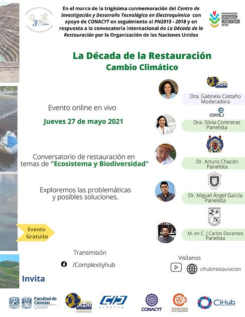 Cartel 27 may - Ecosistema y Biodiversid