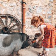 Trudi & little guest