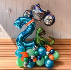 Dinosaur + Motorbike Single Digit $170 ex gst