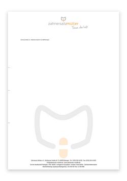 Briefkopf Redesign
