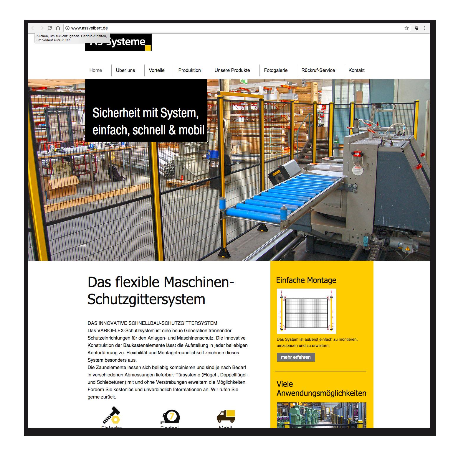 AS-Systeme - Startseite