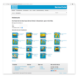 AtlasCopco-Service - Händlersuche