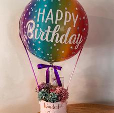 Happy Birthday Flower + Chocolate Hamper $100