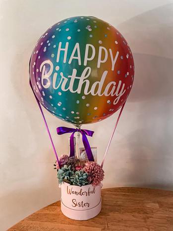 Happy Birthday Flower + Chocolate Hamper $99