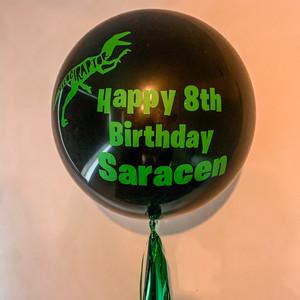 Personalised 60cm Balloon $55 ex gst
